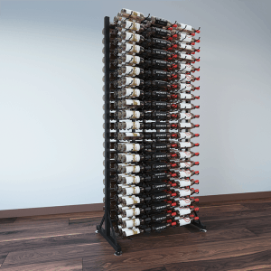 378 Bottle Island Display Rack 7 DLX