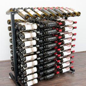 180 Bottle Island Display Rack 3