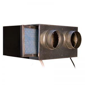 CellarPro 1800 Duct HOOD (Hot Side) with Inline Fan #7409