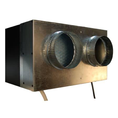 1800 Duct Hood Hot Side