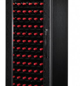 240 Bottle WineKoolR 1 Door Double Deep Wine Cabinet