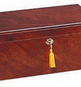 Milano - 75 Cigar Rose Wood Humidor