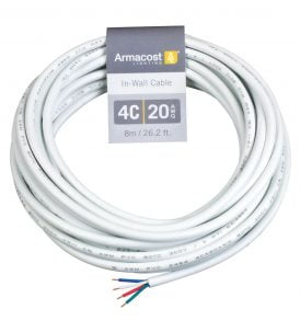 4C 20AWG In Wall Cable