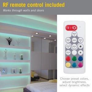 Slimline Wireless RGB Color Controller