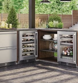 "24"" Signature Series Dual Zone Outdoor - Wine Reserve"