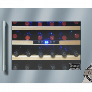 24 Bottle Seamless Wall Mounted Wine Cooler