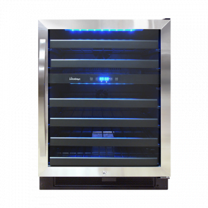 Vinotemp 46-Bottle Dual-Zone Wine Cooler