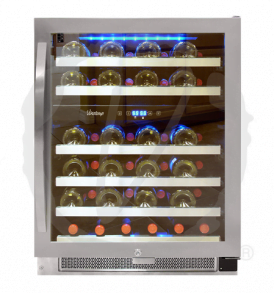 46 Bottle Dual-Zone Connoisseur Series Wine Cooler