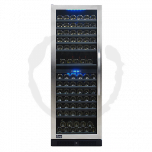 149 Bottle Seamless Dual Zone Wine Cooler