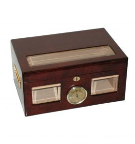 The Versailles Glass Window Cigar Humidor