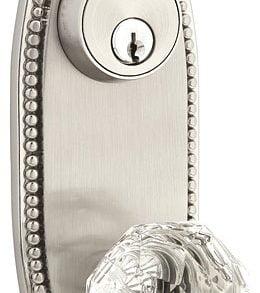 Oval Beaded Keyed Style 3-5/8