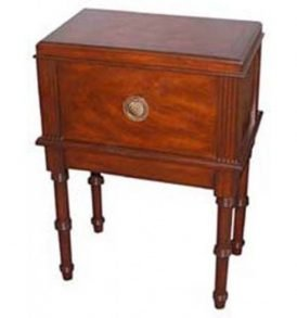 "San Marco - 300 Cigar Antique Table Humidor 20""W x 13""D x 27""""H"