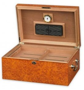 Tuscany - Light Burl Humidor