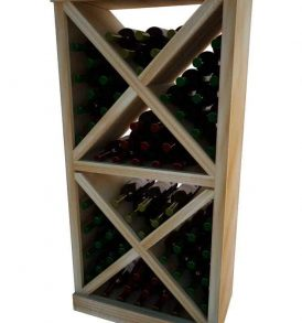 Vintner Series - Solid Diamond Cube with Face Trim
