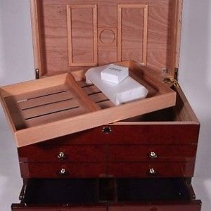 Ravello – Glossy Burl Cabinet Humidor