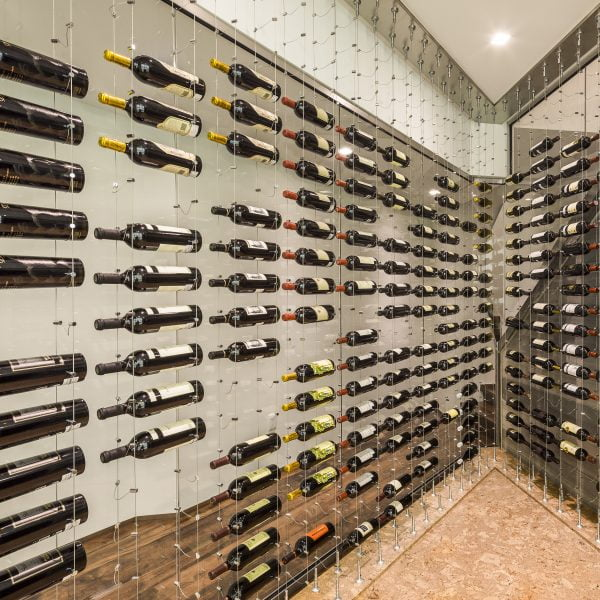 Cable Wine Systems Luxury Display Cellar Creations
