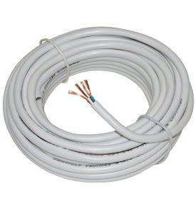 4C RGB LED 18AWG In-Wall Power Wire