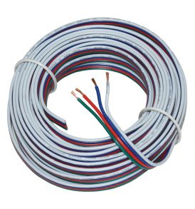 4C RGB LED 22AWG Power Wire