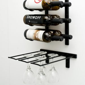 Stemware Rack Wall Mount