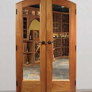 Premium Classic Full Glass Arched French