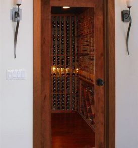 Value Classic Full Glass Square Wine Cellar Doors