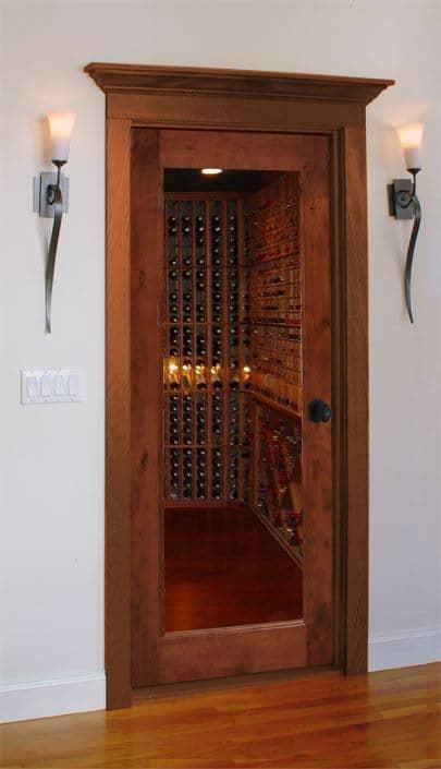 Value Classic Full Glass Square Wine Cellar Doors