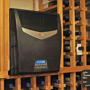 TTW009 with Heater Wine Cellar Cooling Unit (for cellars up to 600cuft)