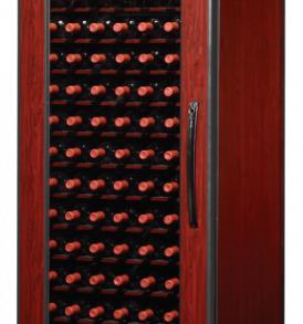 120 Bottle WineKoolR 1 Door Single Deep Wine Cabinet
