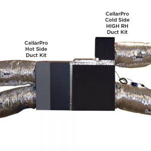 CellarPro VS/Split Duct KIT (Cold Side) Low RH #1476
