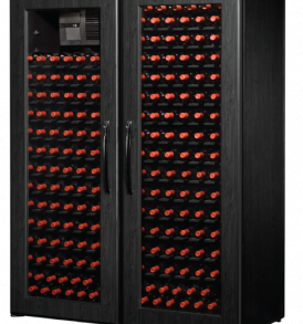 250 Bottle WineKoolR 2 Door Single Deep Wine Cabinet