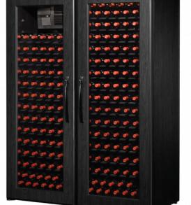 250 Bottle WineKoolR 2 Door Single Deep Wine Cabinet
