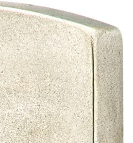 "Sandcast Arched Style Stretto 1-1/2"" x 11"" Keyed"