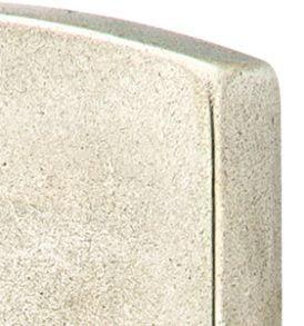"Sandcast Bronze Rectangular Style Stretto 1-1/2"" x 11"" Keyed"