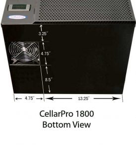 CellarPro 1800XTS Cooling Unit #1294