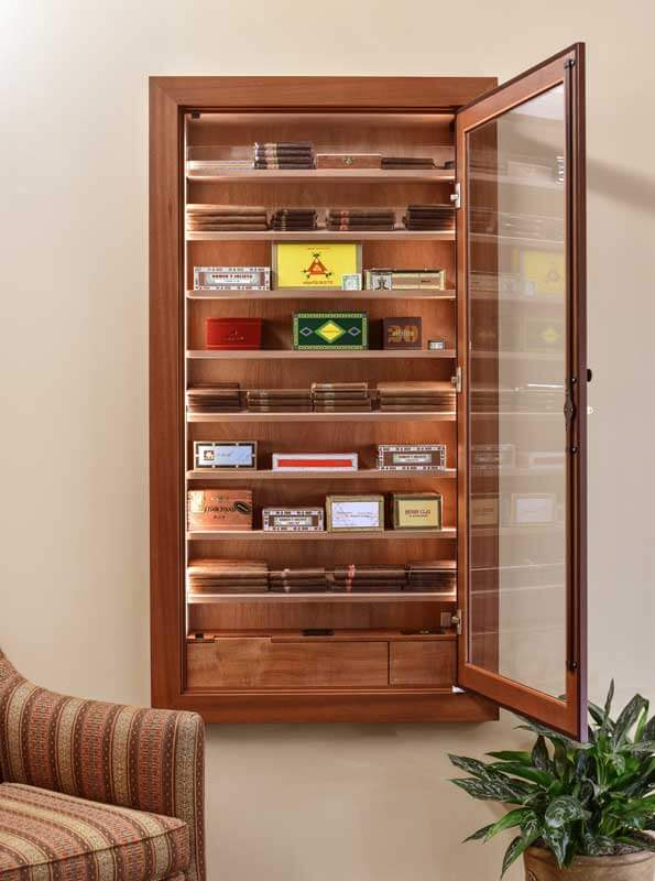 Reliance 550 Wall Cigar Humidor By