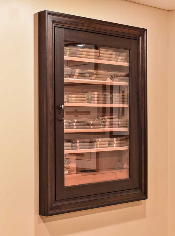 Reliance 450 Wall Cigar Humidor By
