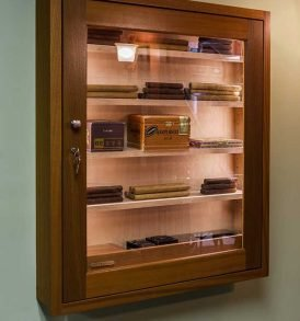 Premium 250 Wall Cigar Humidor