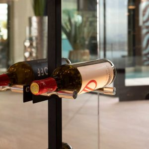 Vino Series Post (floating wine rack system component)