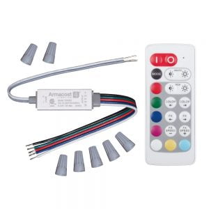 Slimline Wireless RGB+W Color And White Controller