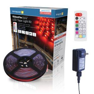 RibbonFlex Home 24 ft. RGB+W IndoorOutdoor LED Tape Light Kit